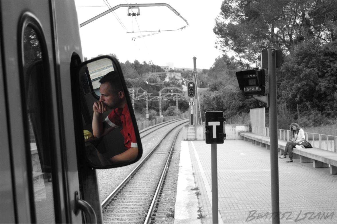 tren, vías del tren